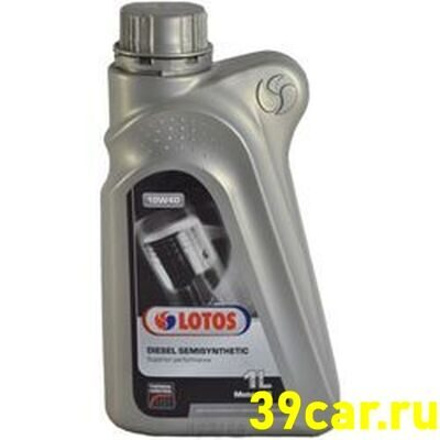 LOTOS Масло моторное 10w40 DIESEL SEMISYNTHETIC 1л