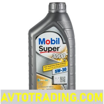MOBIL Масло моторное  5w30 Super 3000 XE (C3) 1л