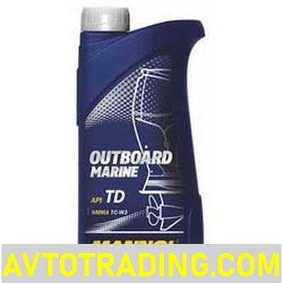 MANNOL Масло 2-Takt Outboard Marine 1л (лодочное)