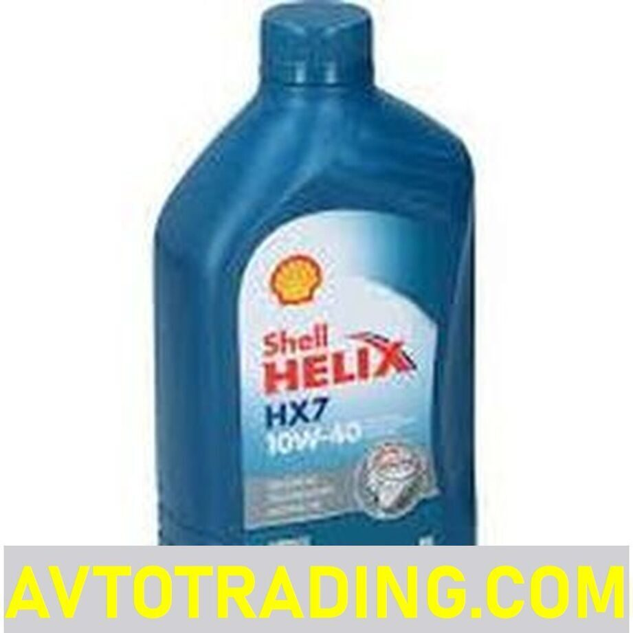 SHELL Масло моторное 10w40 HELIX HX7 1л