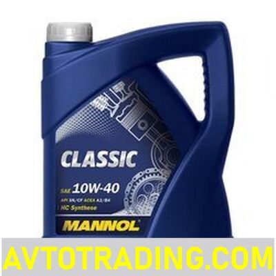 MANNOL Масло моторное 10w40 CLASSIC  5л