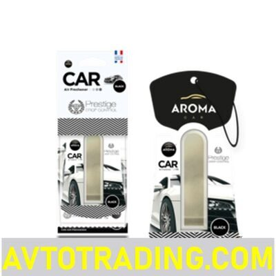 Ароматизатор AROMA CAR мембранный PRESTIGE DROP CONTROL BLACK