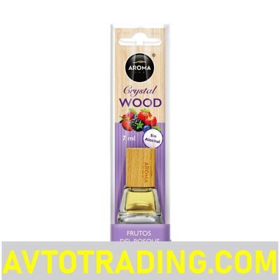 Ароматизатор AROMA CAR жидкий WOOD CRYSTAL 7мл (Forest Fruits Лесные ягоды)
